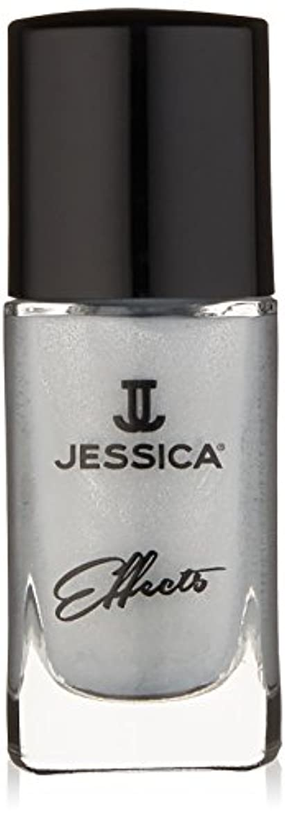銀ロードブロッキング銀Jessica Effects Nail Lacquer - Platinum Promise - 15ml / 0.5oz