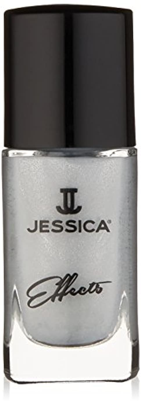 火親密な地味なJessica Effects Nail Lacquer - Platinum Promise - 15ml / 0.5oz