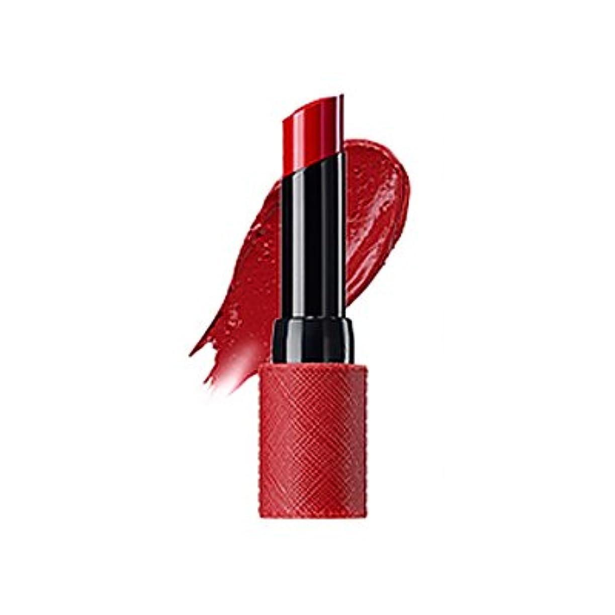 年次追い付く柱The Saem Kissholic Lipstick S(RD02 Red Velvet) ザセムキスホリックリップスティック S [並行輸入品]