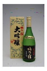 梅乃宿酒造 梅乃宿 備前雄町 純米大吟醸 720ml.e お届けまで10日ほどかかります