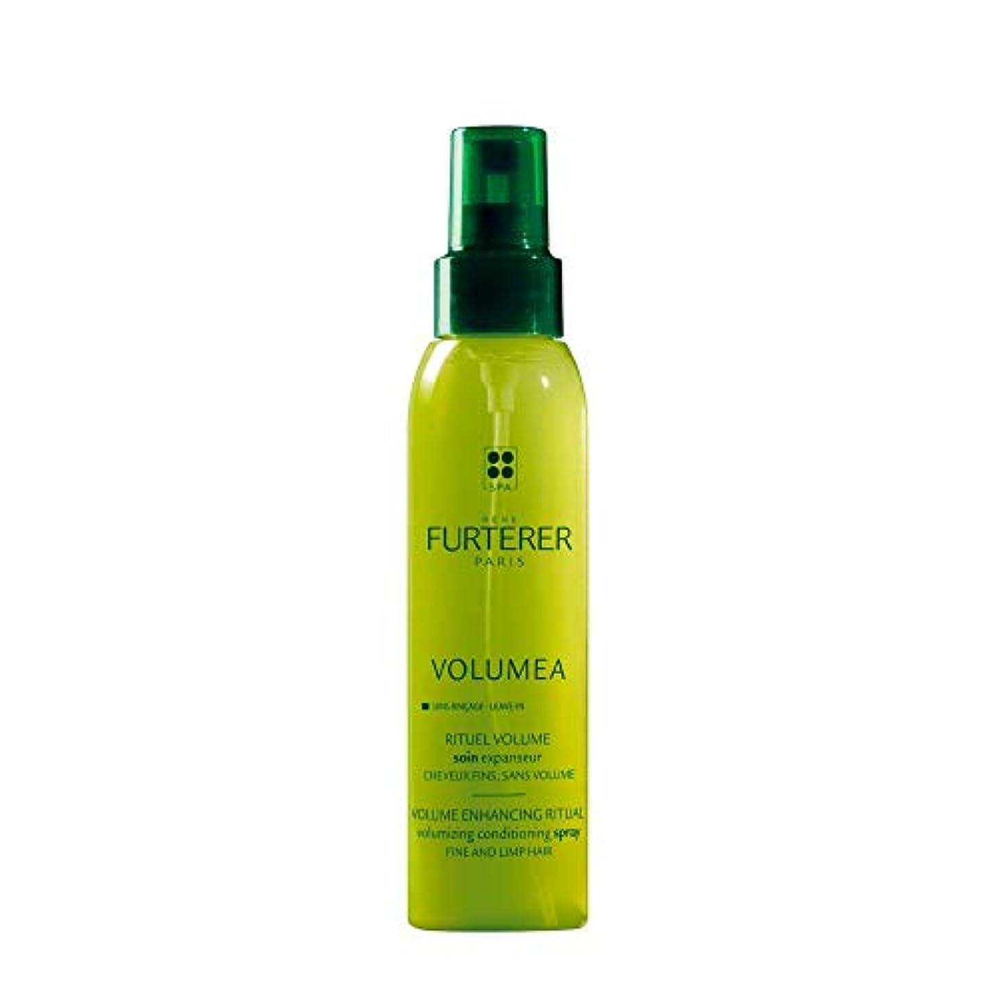関係ない一時的扇動するルネ フルトレール Volumea Volume Enhancing Ritual Volumizing Conditioning Spray (Fine and Limp Hair) 125ml/4.2oz並行輸入品