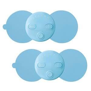 エレコム 低周波治療器(ブルー)【2個入】ERECOM エクリア リフリー HCM-RP01BU2