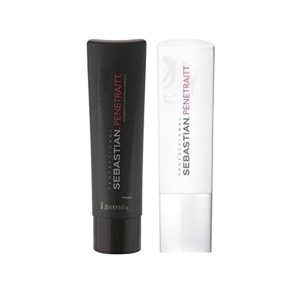自分のポール保護Sebastian Professional Penetraitt Duo - Shampoo & Conditioner - セバスチャンプロデュオ - シャンプー&コンディショナー [並行輸入品]