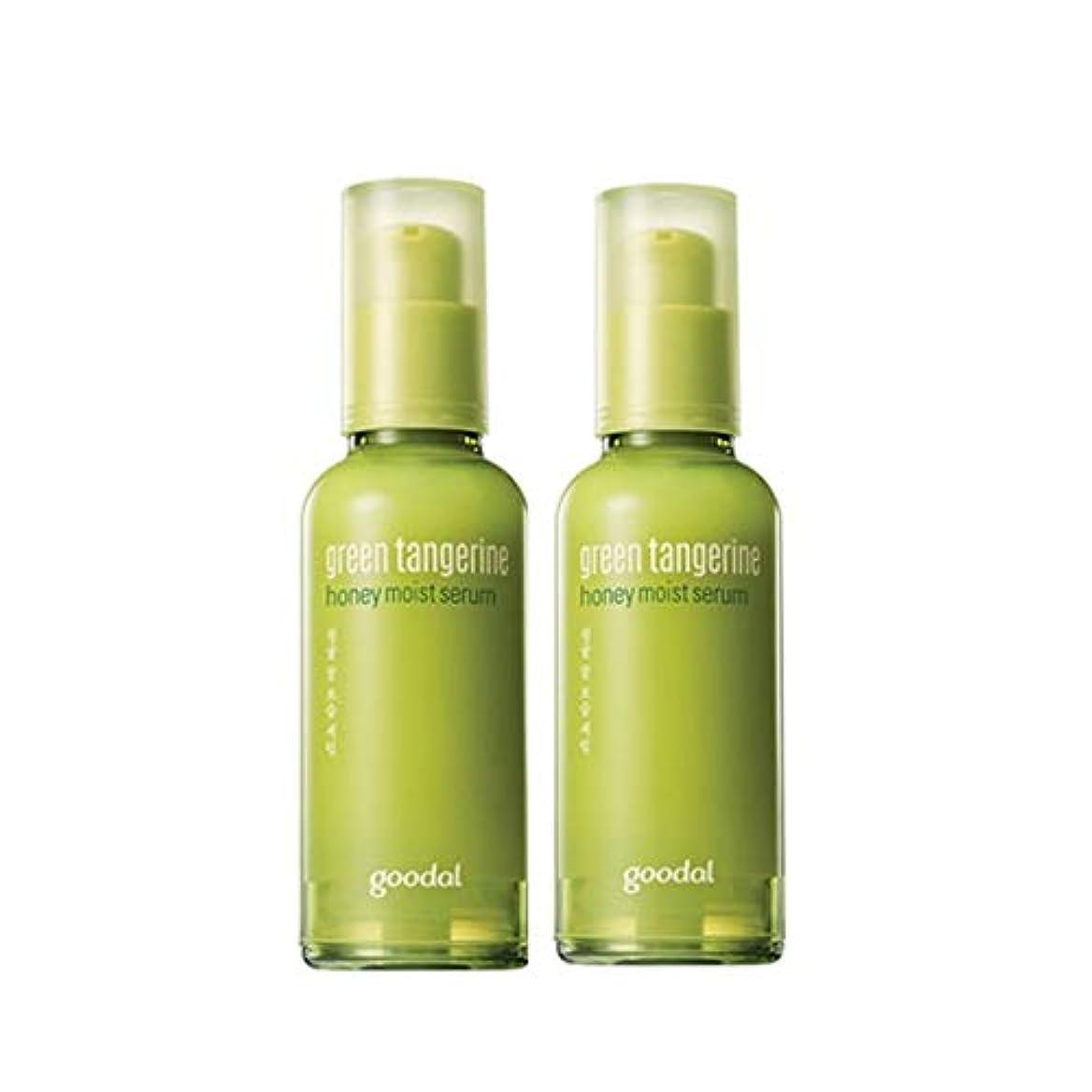やむを得ない神秘テントグドール青みかん蜂蜜保湿セラム50mlx2本セット韓国コスメ、Goodal Green Tangerine Honey Moist Serum 50ml x 2ea Set Korean Cosmetics [並行輸入品]