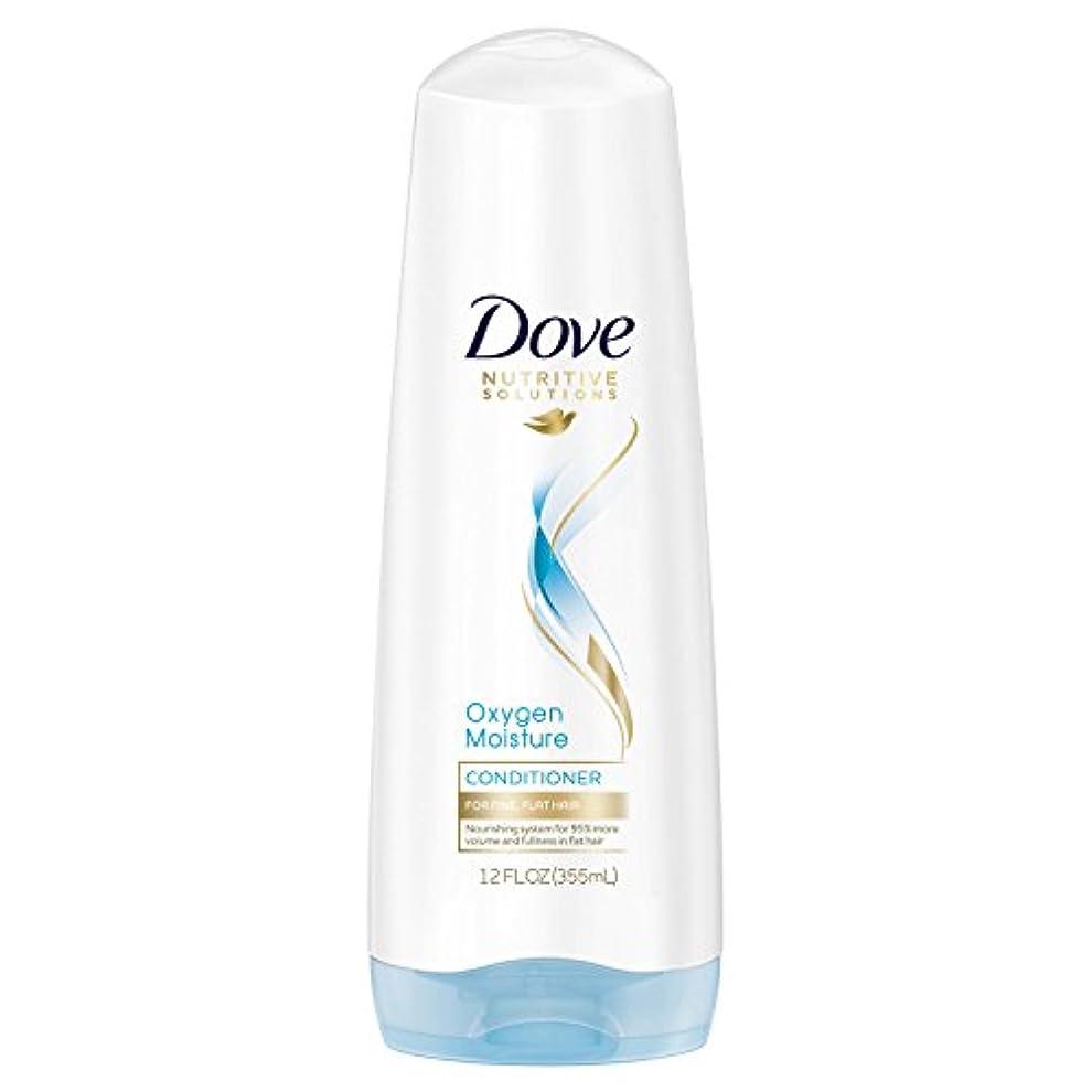 Dove 栄養ソリューションコンディショナー、酸素、水分12オズ