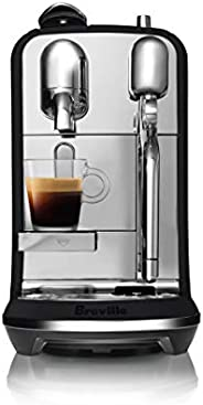 Breville Nespresso Creatista Plus Coffee Machine, Black Truffle, BNE800BTR