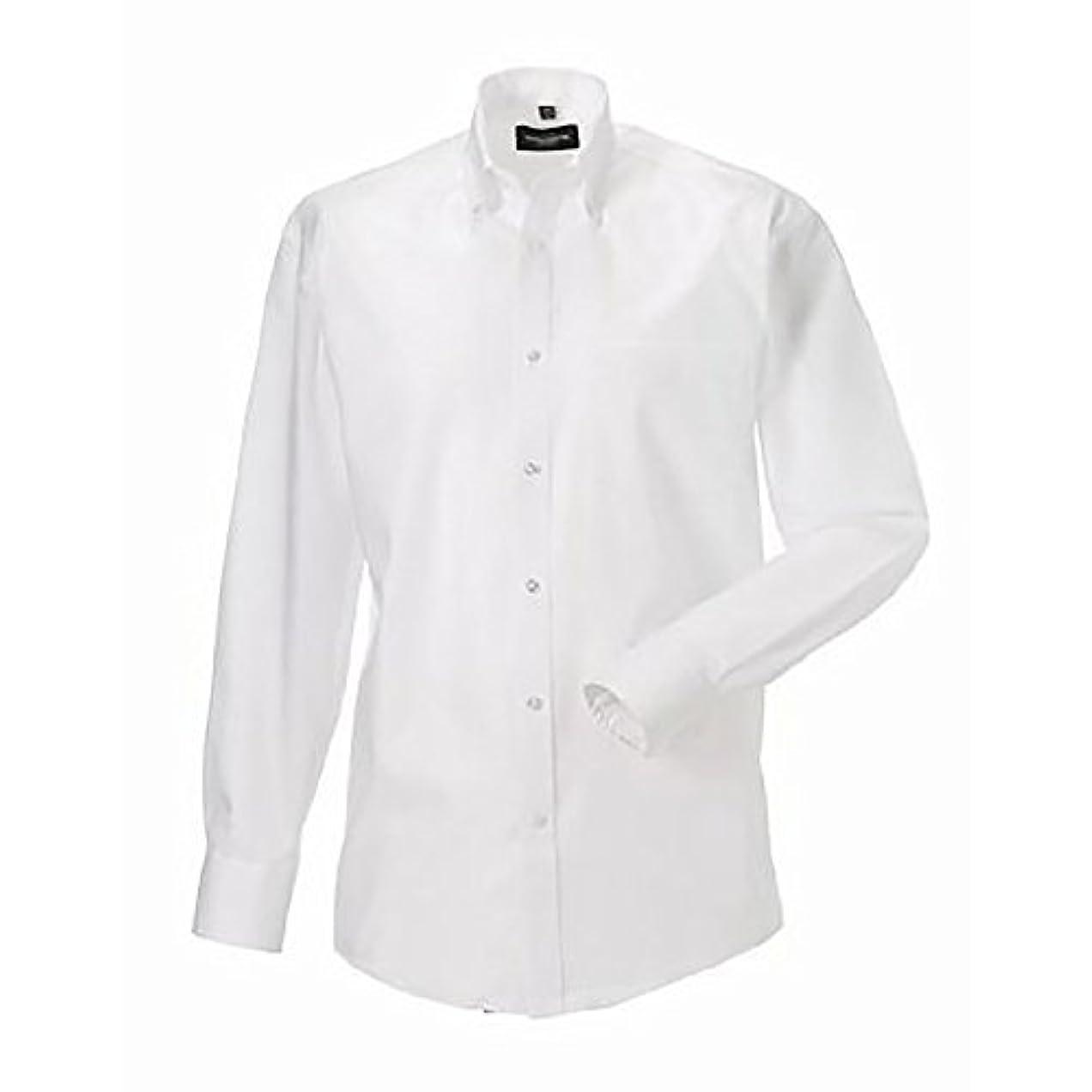 トロピカル似ている貸し手(ラッセル) Russell メンズ 長袖 ノンアイロンシャツ ワイシャツ ビジネス スマート 定番