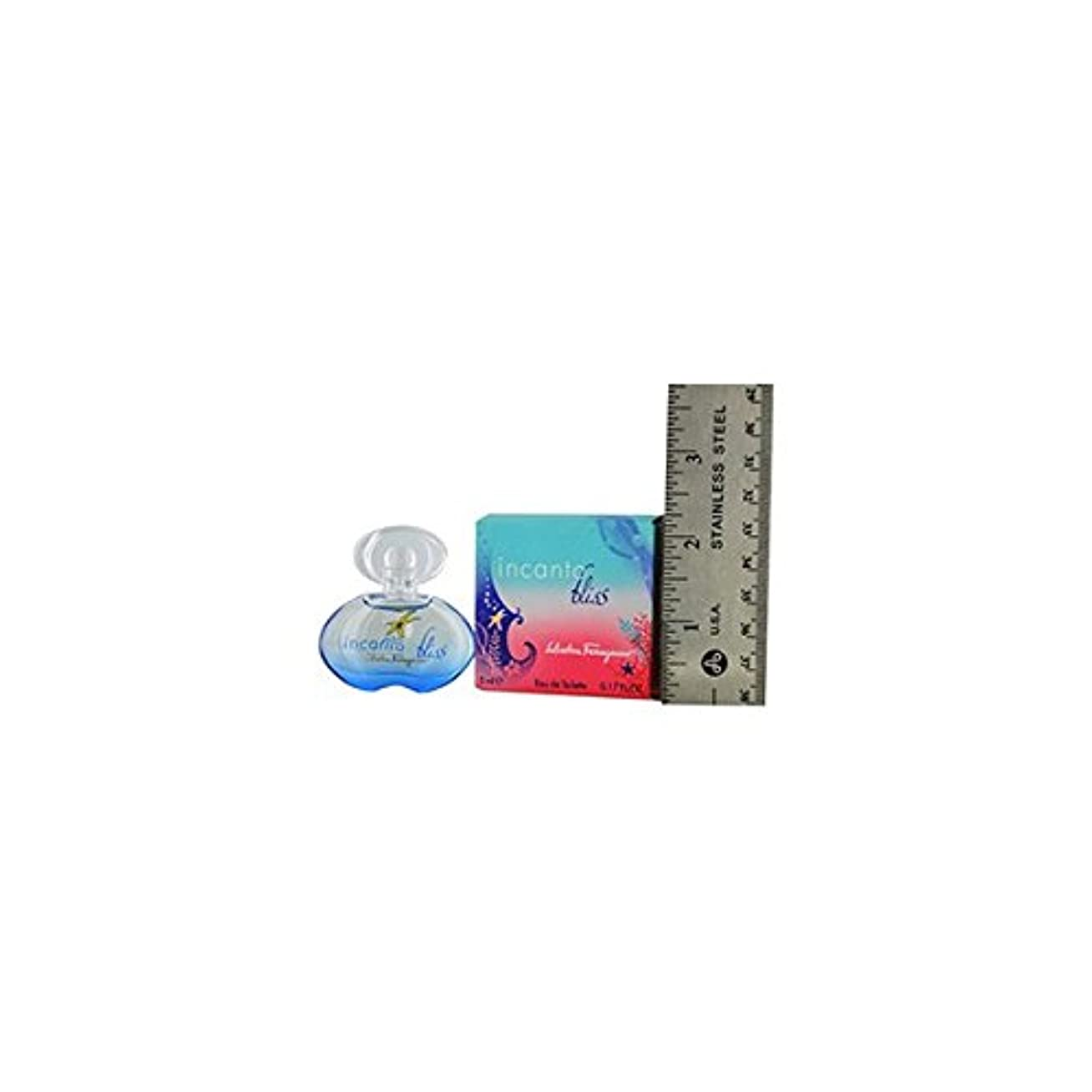 のど観察する満たす【ミニ香水】サルバドール フェラガモ インカント ブリス 5ml EDT