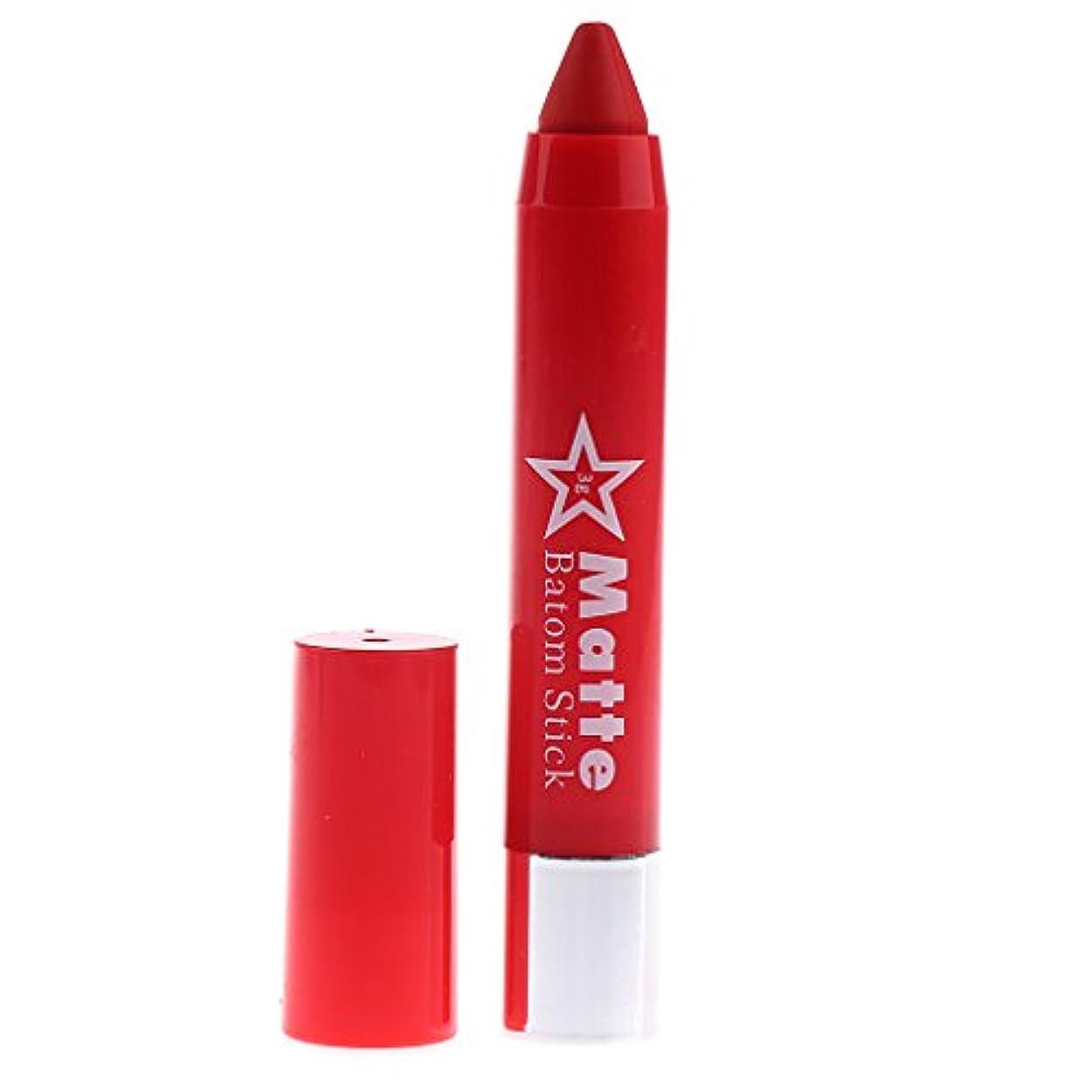 隣接韓国学士6色セット 長持ち 保湿 口紅 リップスティック 高彩度カラー 人気カラー 携帯便利 女性のギルト - #F