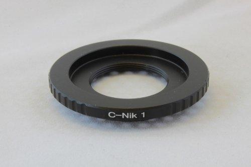 Pixco C マウント (スクリューマウント) レンズ → ニコン1 Nikon 1 マウント ボディ アダプター V1 V2 J1 J2 J3 S3 など 並行輸入品