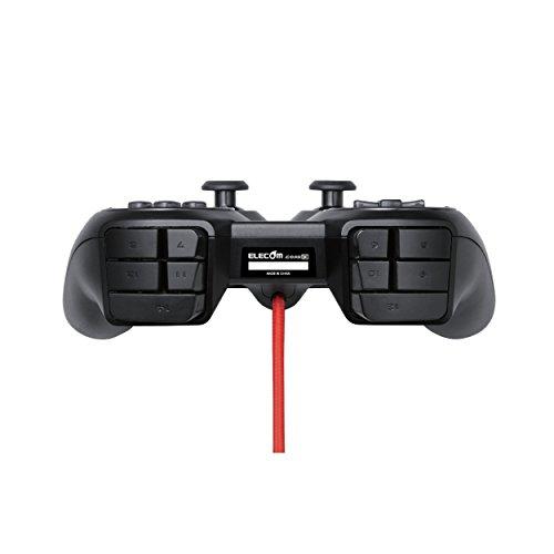 エレコム USB ゲームパッド 24ボタン MMOゲーミング DUXシリーズ ブラック JC-DUX60BK