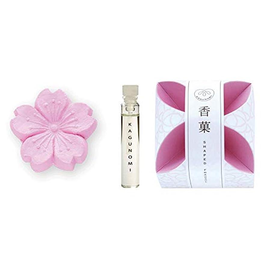 オーバーラン楕円形ペパーミント香菓 さくら形(桜色) 1入 オイル1.8mm付