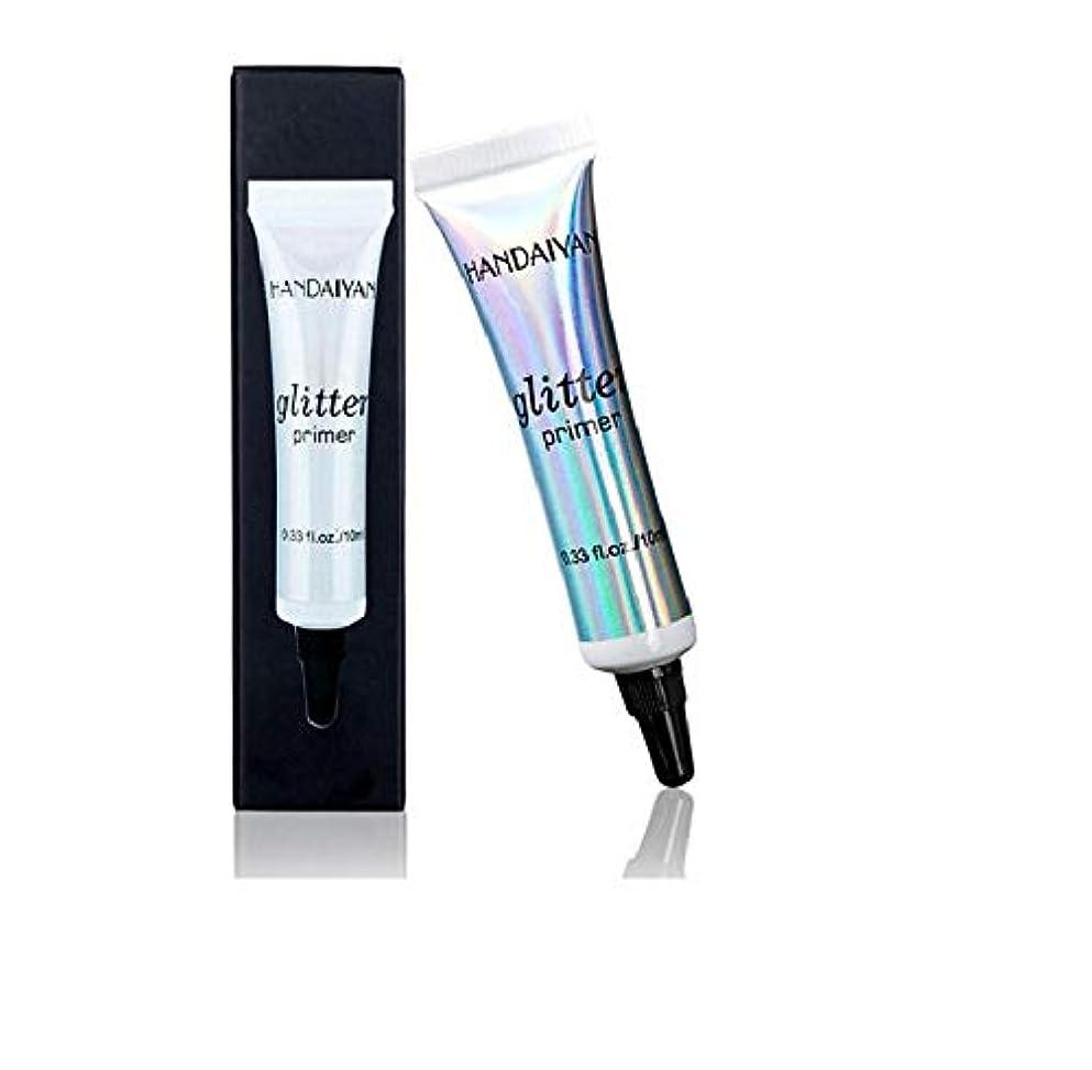 遊具ボーダー受け取るアイシャドウSequin Glitter Eye Shadow Fashion Face Lip Eye Makeup Primer Cream Women Universal Makeup Cosmetic