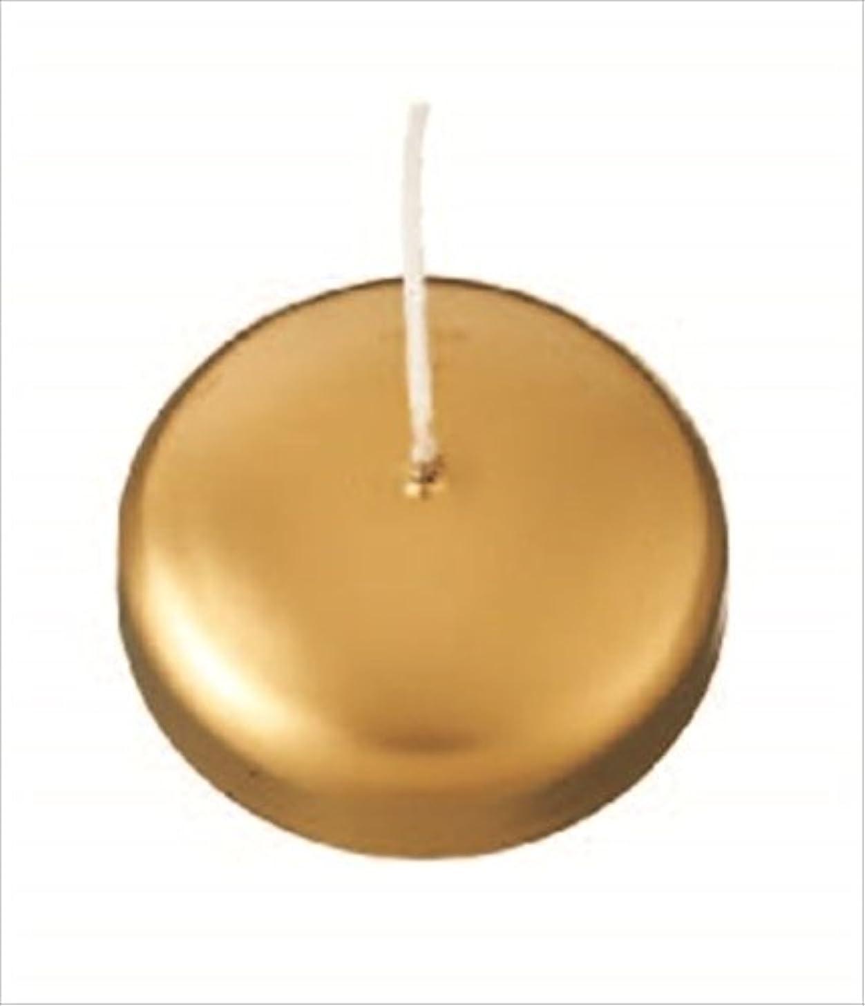 カメヤマキャンドル(kameyama candle) プール80 「 ゴールド 」
