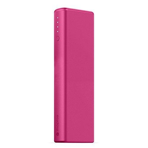 日本正規品・1年保証mophie power boost XL (急速充電対応 10400mAh モバイルバッテリー) ピンク MOP-BY-000148