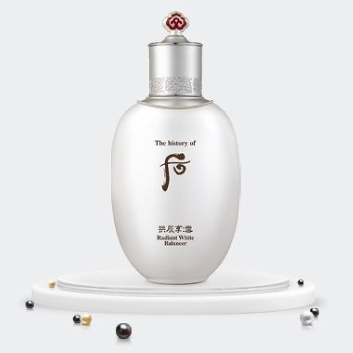 特定のラショナル究極のThe history of Whoo Gongjinhyang Seol Radiant White Balancer 150ml/ザ ヒストリー オブ フー (后) 拱辰享 雪 ラディアント ホワイト バランサー 150ml