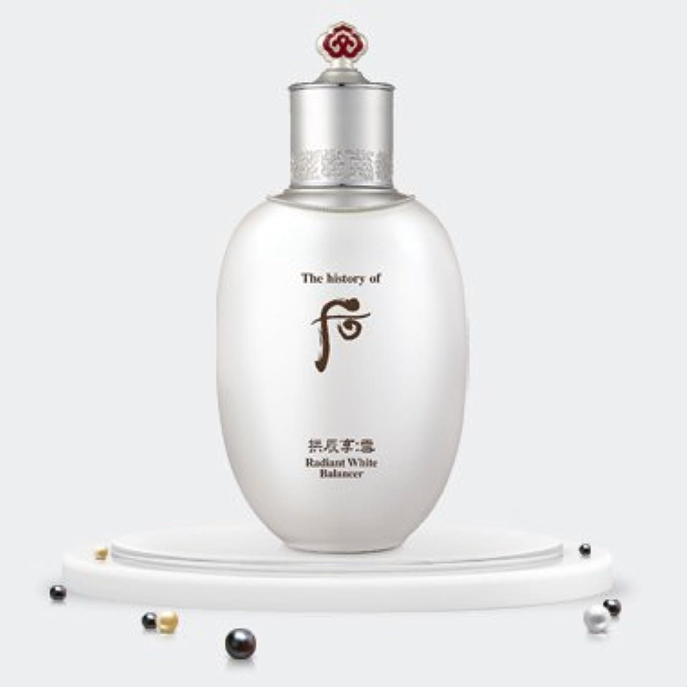 機械発症誘発するThe history of Whoo Gongjinhyang Seol Radiant White Balancer 150ml/ザ ヒストリー オブ フー (后) 拱辰享 雪 ラディアント ホワイト バランサー 150ml