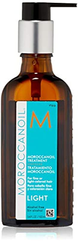 ムスきしむ枯渇するモロッカンオイル オイルトリートメントライト100ml (洗い流さないヘアトリートメント)