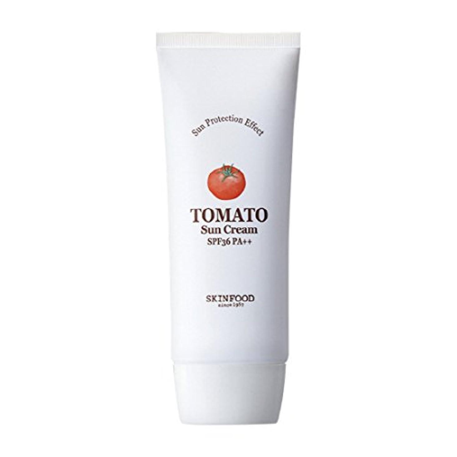助けて充実敵対的Skinfood トマトサンクリームSPF 36 PA ++(UVプロテクション) / Tomato Sun Cream SPF 36 PA++ (UV Protection) 50ml [並行輸入品]