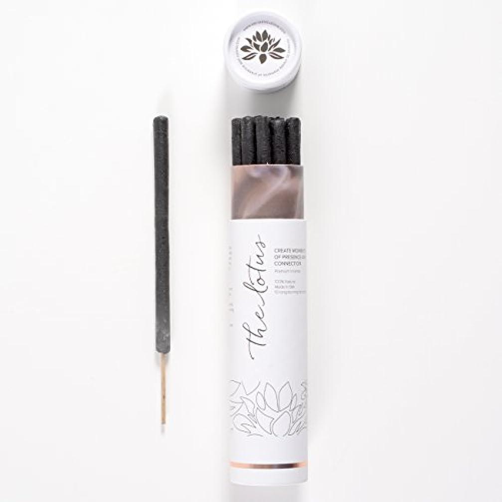 花婿起こりやすい道を作るThe LotusバリIncense – 10プレミアムLong Burn ' Fat ' Sticks。100 % Organic & Natural Ingredients。
