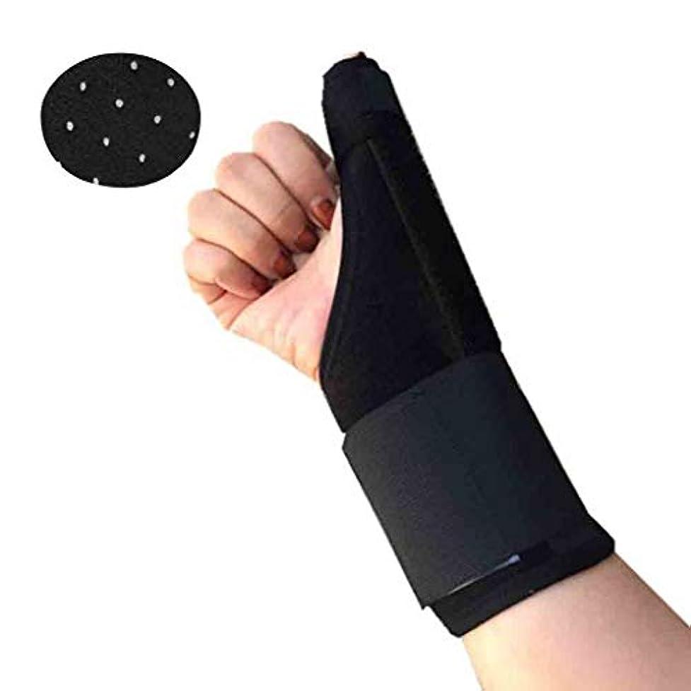 廊下コミットメント物思いにふける関節炎のThumbスプリントは、手根管トンネルのThumb関節Thumbブレースを固定する手首の痛みの救済は、右手と左手の両方にフィット Roscloud@