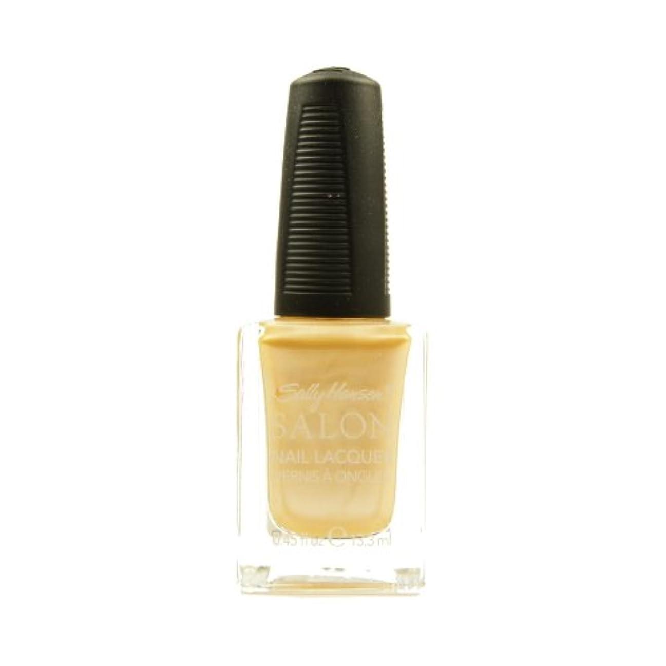 デザイナー分析するストレス(3 Pack) SALLY HANSEN Salon Nail Lacquer 4134 - Fizz It Is (並行輸入品)