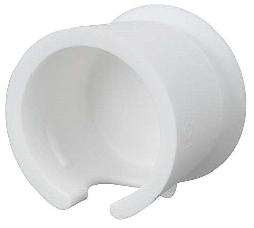 三栄水栓 スタイリッシュな風呂・洗面所に ラバーシェーバーホルダー ホワイト PW6830-W4