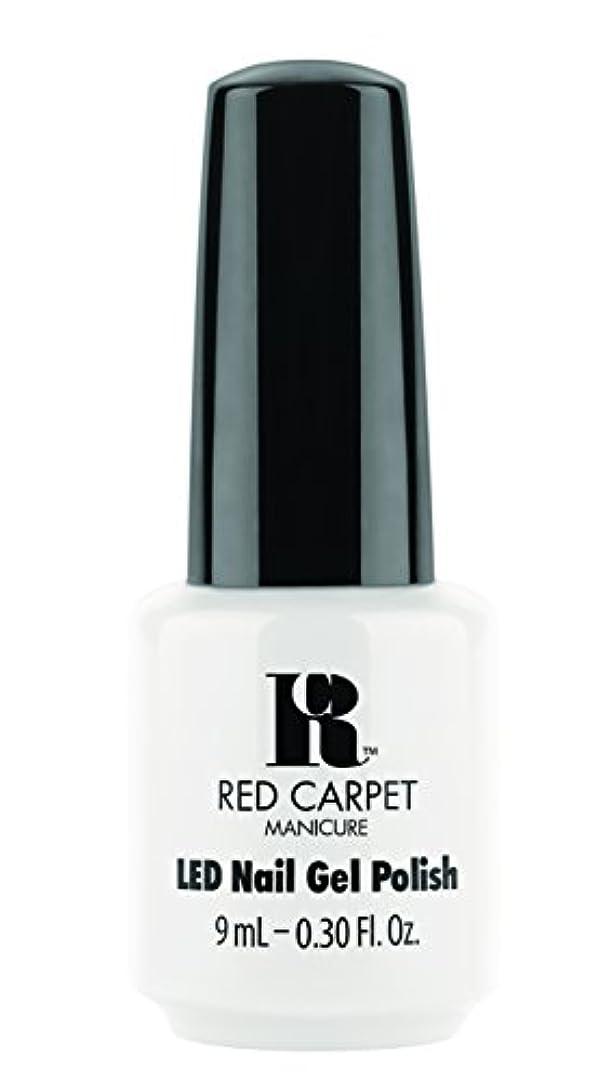 アルコールスラッシュ恐怖Red Carpet Manicure - LED Nail Gel Polish - White Hot - 0.3oz / 9ml