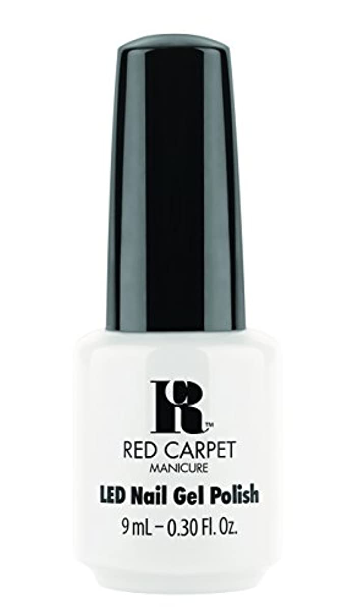 ダイバー許容できるウェーハRed Carpet Manicure - LED Nail Gel Polish - White Hot - 0.3oz / 9ml