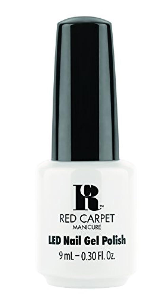 ドラムイタリックアパートRed Carpet Manicure - LED Nail Gel Polish - White Hot - 0.3oz / 9ml