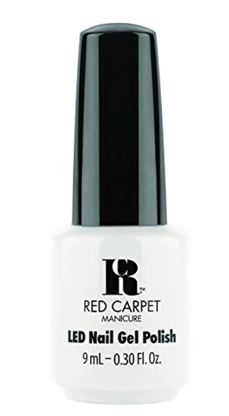 小さいウィンクセーターRed Carpet Manicure - LED Nail Gel Polish - White Hot - 0.3oz / 9ml