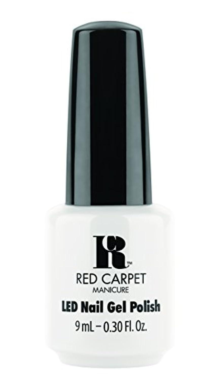 プログラム混乱した嫌がらせRed Carpet Manicure - LED Nail Gel Polish - White Hot - 0.3oz / 9ml