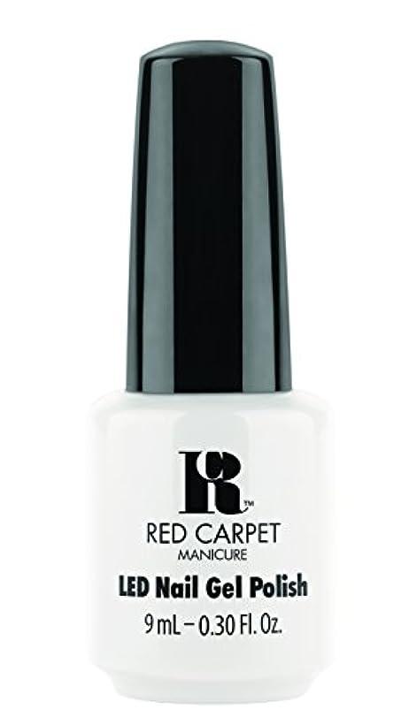 抑圧するラリーベルモントシルエットRed Carpet Manicure - LED Nail Gel Polish - White Hot - 0.3oz / 9ml