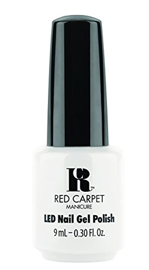 休日木曜日ハイジャックRed Carpet Manicure - LED Nail Gel Polish - White Hot - 0.3oz / 9ml