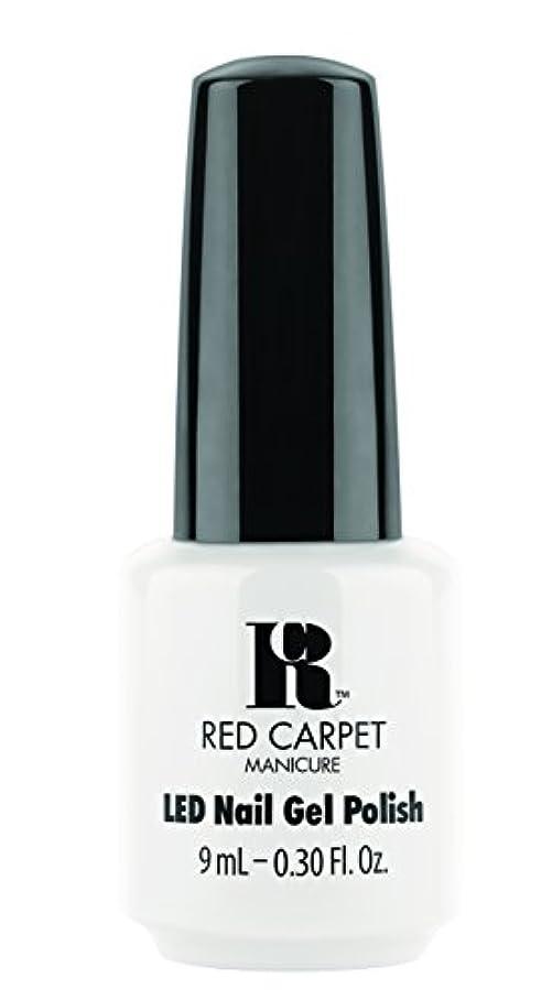 ヘクタール家具ほんのRed Carpet Manicure - LED Nail Gel Polish - White Hot - 0.3oz / 9ml
