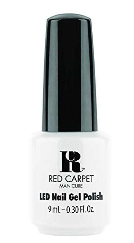 滑るシングル麻酔薬Red Carpet Manicure - LED Nail Gel Polish - White Hot - 0.3oz / 9ml