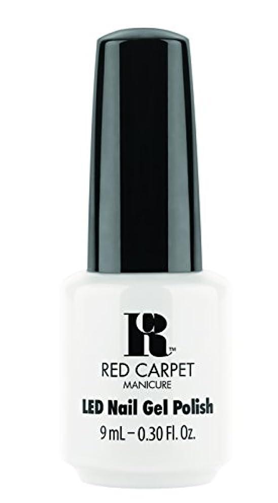 移動権利を与える航海Red Carpet Manicure - LED Nail Gel Polish - White Hot - 0.3oz / 9ml