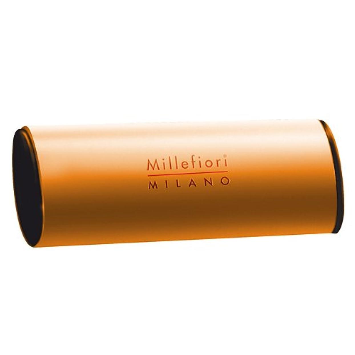 買うも飽和するMillefiori カーエアーフレッシュナー オレンジ オレンジティー CDIF-A-003
