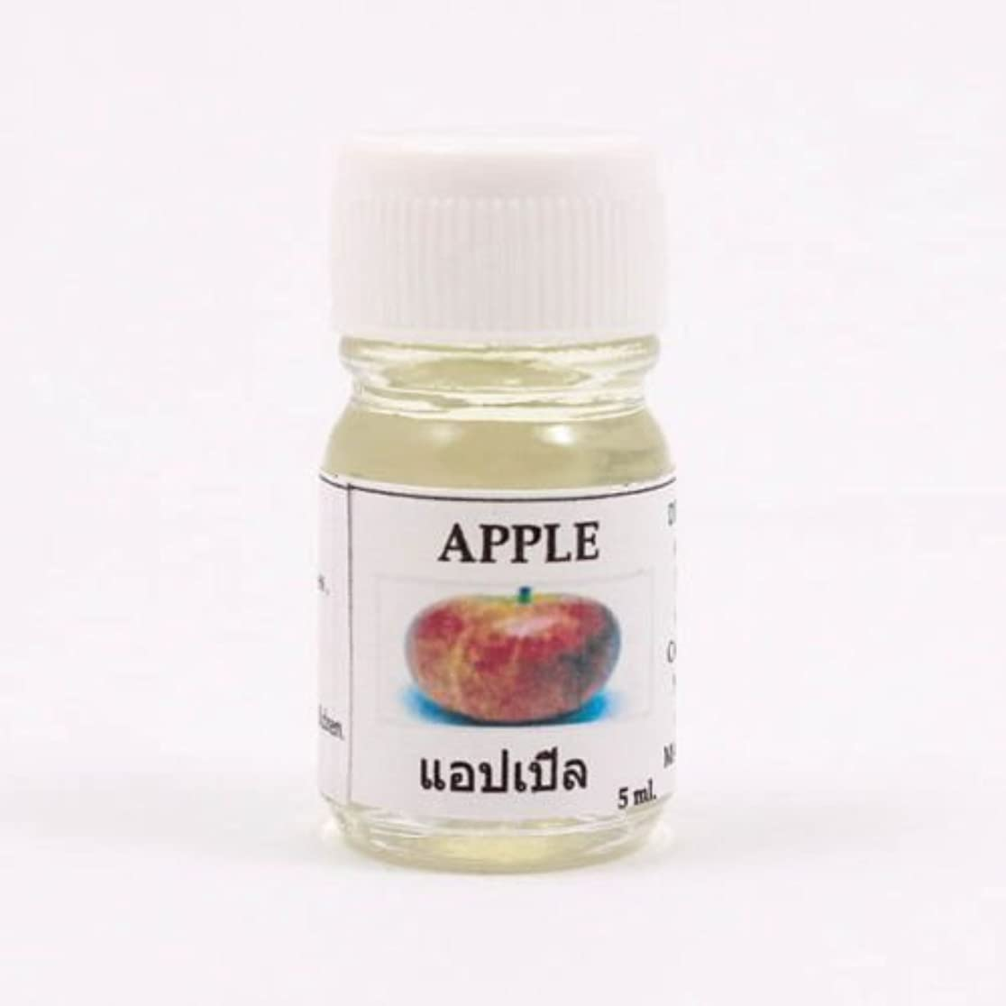 ロゴ損失幸運な6X Apple Aroma Fragrance Essential Oil 5ML cc Diffuser Burner Therapy