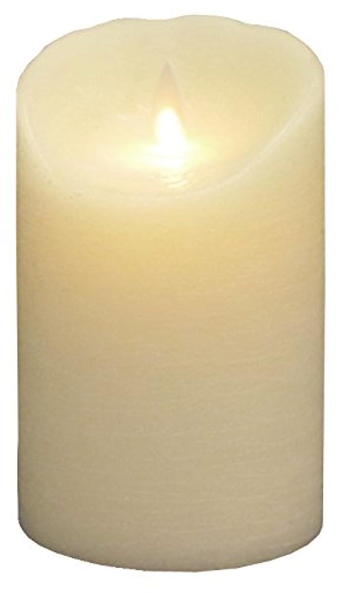 薄暗い無謀楕円形ナジャペレーネ ムービングキャンドル ルナーテ【フェイクキャンドル】 アイボリー