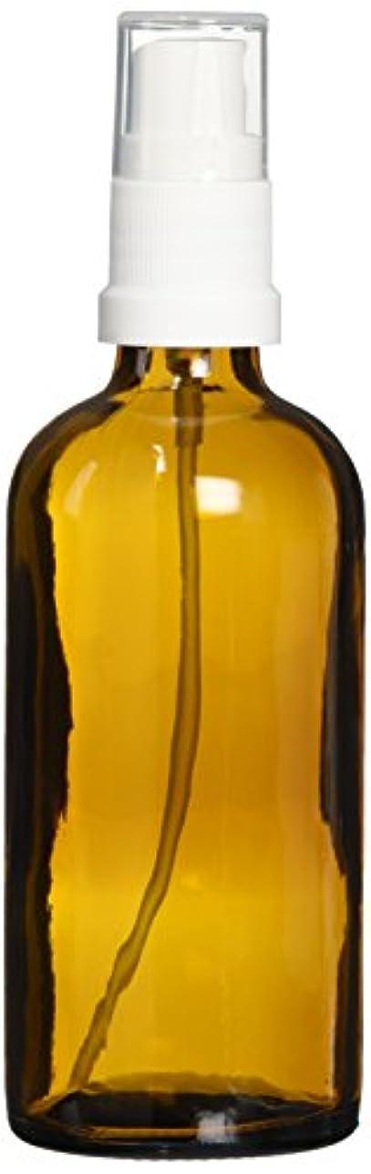 リズミカルなマラドロイト村ease 保存容器 スプレータイプ ガラス 茶色 100ml