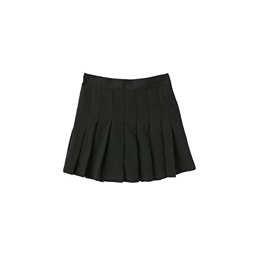SPINNS プリーツミニスカート BLACK -