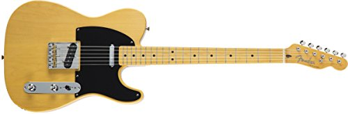 Fender エレキギター MIJ Traditional '50s Telecaster Maple Vintage Natural