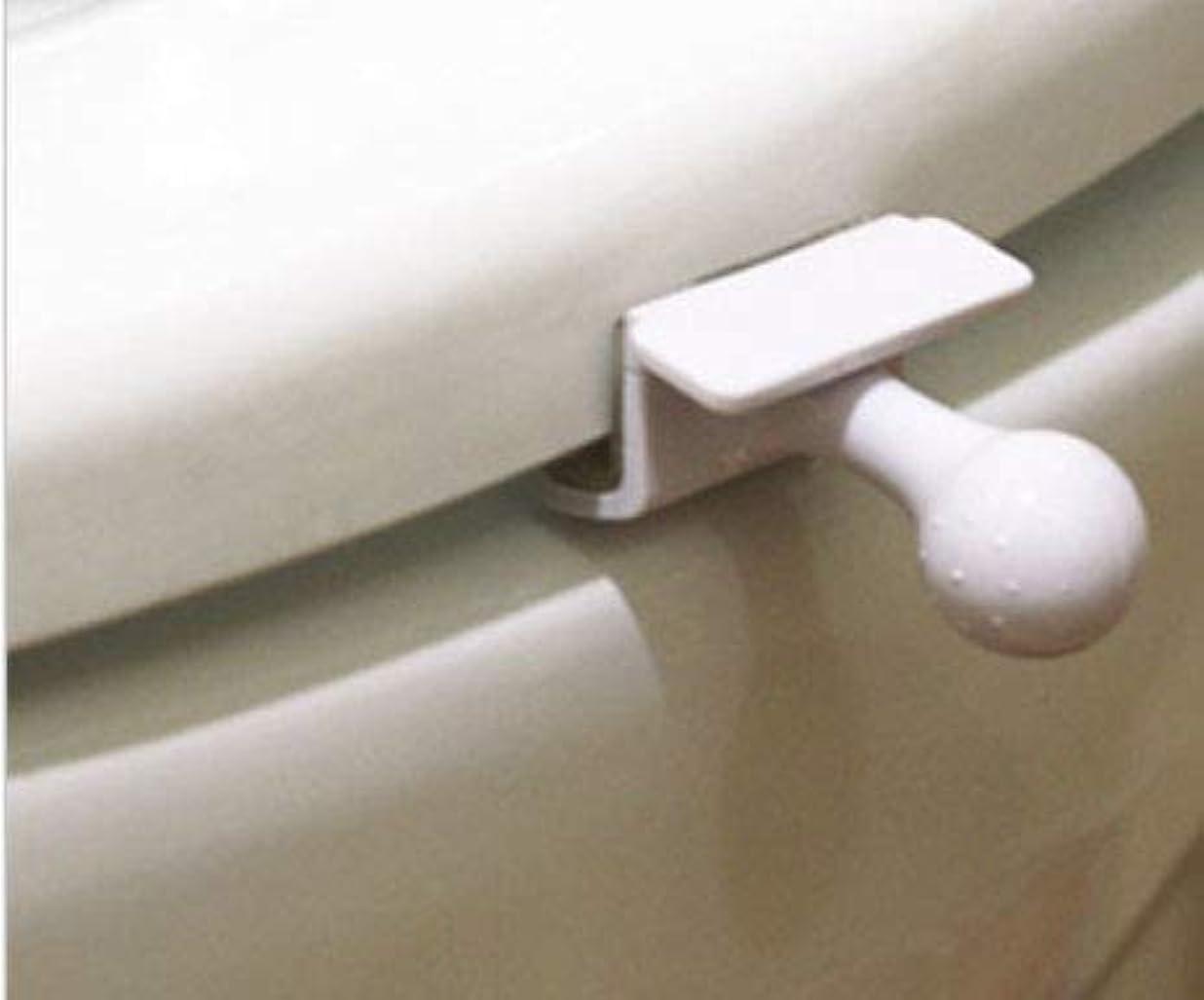 安価な時折フィードオン切手を貼り郵便局発送、トイレ 便座 取っ手 除菌 トイレ便座とって 便座ハンドル 開閉、トイレを使用する時、蓋を持ち上げる時の不愉快さを なくす、トイレの蓋を取る器具