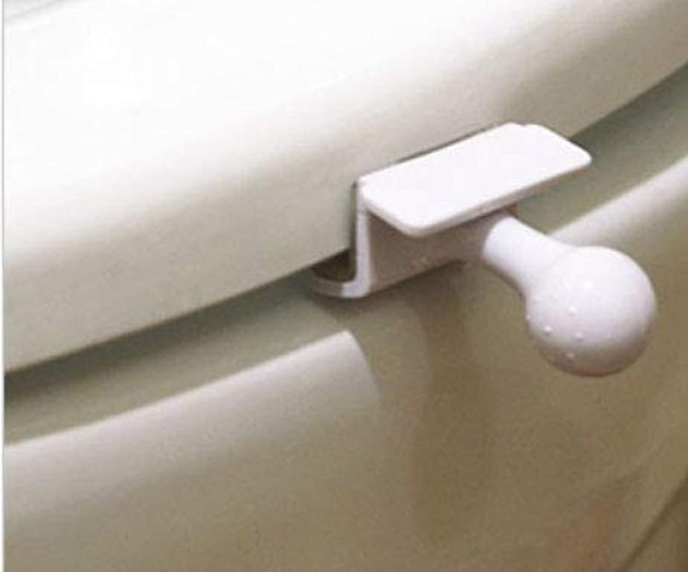 製油所最終的に怠切手を貼り郵便局発送、トイレ 便座 取っ手 除菌 トイレ便座とって 便座ハンドル 開閉、トイレを使用する時、蓋を持ち上げる時の不愉快さを なくす、トイレの蓋を取る器具
