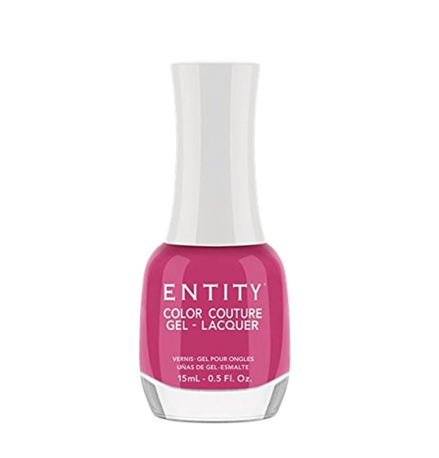 遡る乳白ハリウッドEntity Color Couture Gel-Lacquer - Midriffs & Mini Skirts - 15 ml/0.5 oz