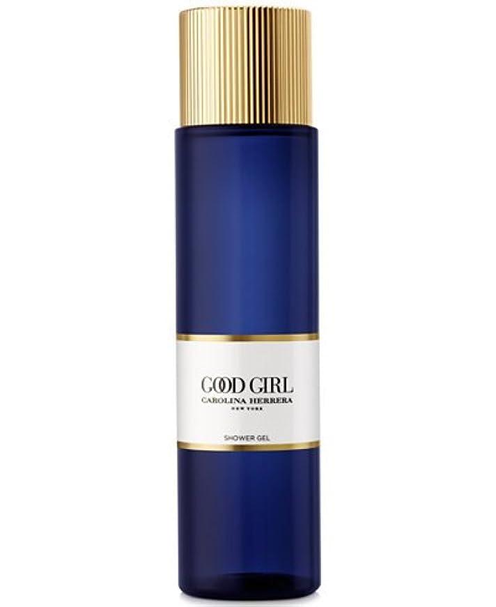 シードフラスコ書士Good Girl (グッド ガール) 6.8 oz (200ml) Shower Gel (シャワージェル) by Carolina Herrera for Women
