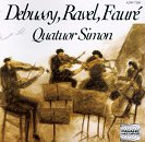 Quatuor Simon play Debussy,Ravel, Faure
