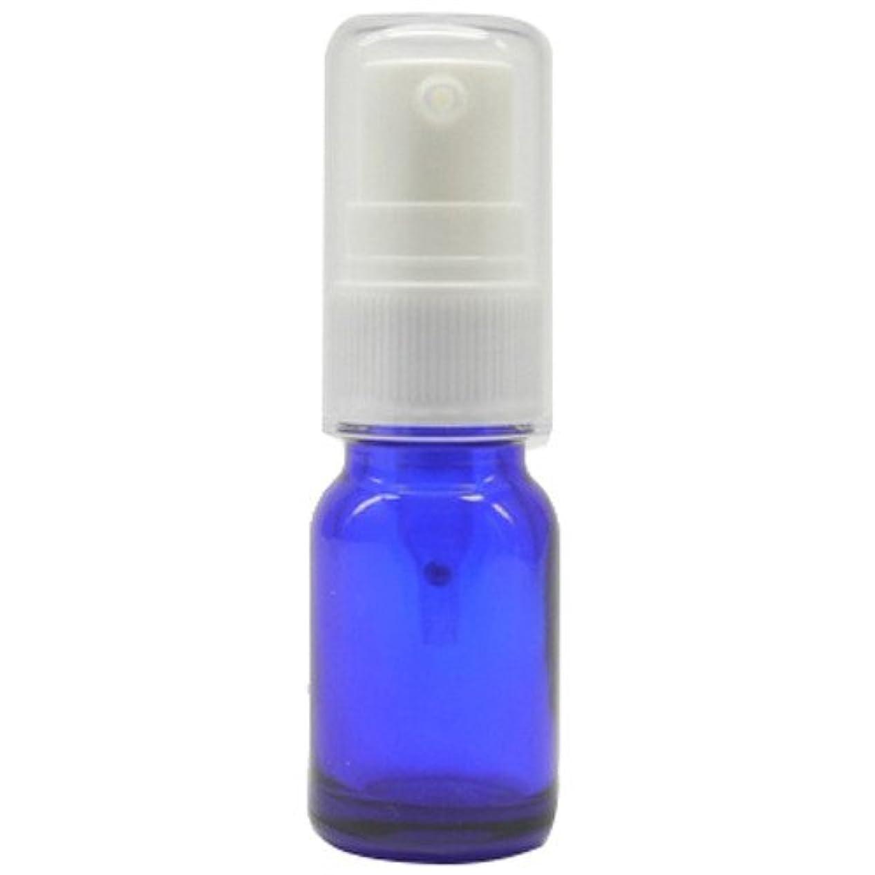 ポット花瓶小数アロマアンドライフ (D)ブルーポンプ瓶10ml 3本セット