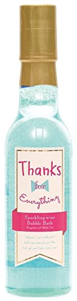 派手ブランク製油所ノルコーポレーション 入浴剤 バブルバス スパークリングワイン 240ml ホワイトティーの香り OB-WIB-6-2